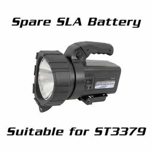 Spare 12V 2.8AH SLA Battery for use with ST3379