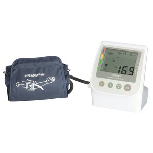 MONITOR BLOOD PRESSURE UPPER ARM AUT LCD
