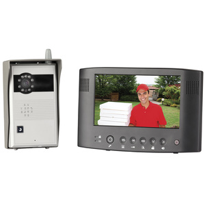 Wireless 7 Colour Video Doorphone with Recording Function
