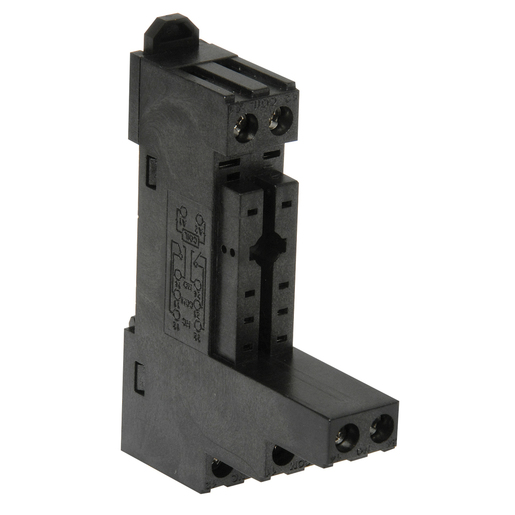 DIN Rail Relay Mounting Socket