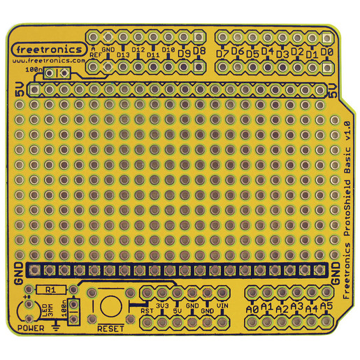 ProtoShield Basic for Arduino