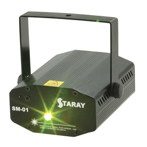 Small Red/Green Laser Light Show