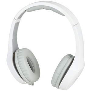 Gloss White Hi-Fidelity Stereo Headphones
