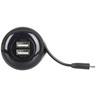 4.2A USB Car Charger with Micro USB Lead and 2 x USB Sockets