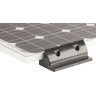 ABS Solar Panel Side Mounts, 180mm, Pair