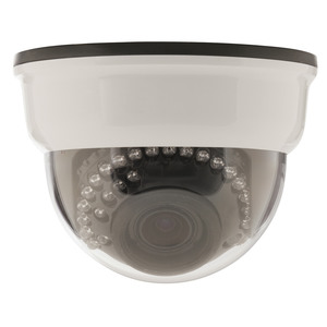 3-Axis Vari-Focal Dome Camera with IR 380TV Lines