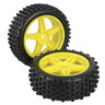 WHEELS W/TYRES PAIR BUGGY FRONT [GT3670]