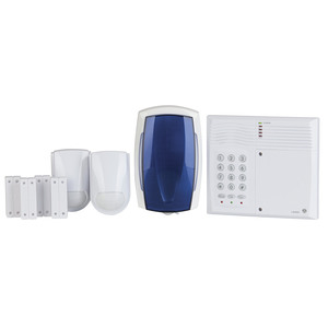 Four Zone Security Alarm System with 2 Wire Technology