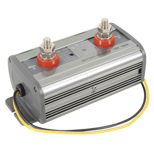 Dual Battery Isolators with Adjustable Disconnect/Reconnect - 12V Battery