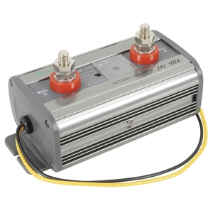 Dual Battery Isolator with Adjustable Disconnect/Reconnect - 24V Battery