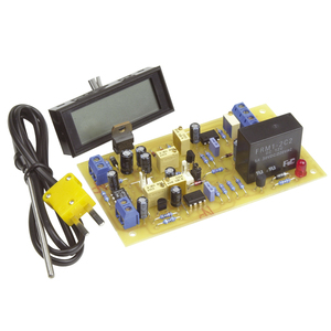 High Range Adjustable Temperature Switch with LCD
