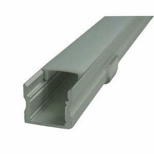 Extruded Aluminium Channels With Diffusers for LED Strips