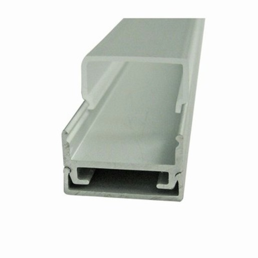 Extruded 2-Piece Hidden Mounting Aluminium Channel with Diffusers for LED Strips
