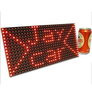 Large Dot Matrix Display Panel for Arduino