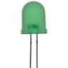 Green 5mm LED 80mcd Round Diffused