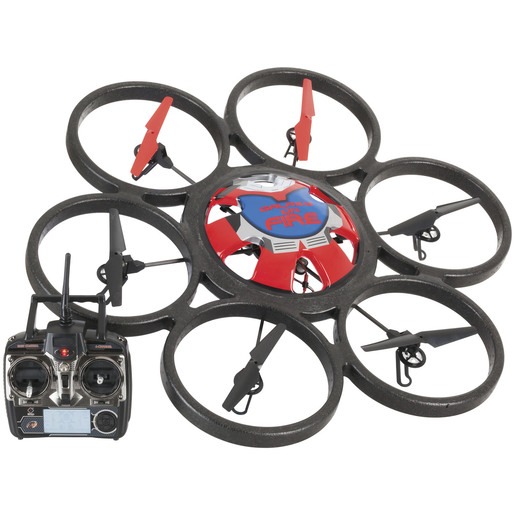 6 Rotor Remote Control 4 Channel Hexacopter