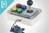 Arcade Joystick with Microswitches