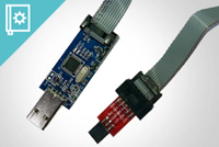 AVR ISP 10pin to 6pin Adaptor for Arduino