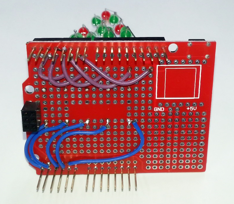 Wiring LED Matrix